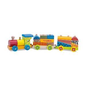 Eichhorn Train en bois 20 pièces