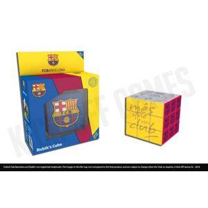 Megableu Speed Cube FC Barcelone Rubiks Cube - Bleu - Bleu - Taille One Size