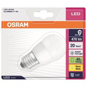 Osram Ampoule LED Star sphérique E27 5.7W (40W) A+