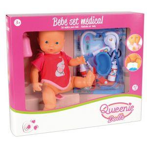 Qweenie Dolls Bébé set médical
