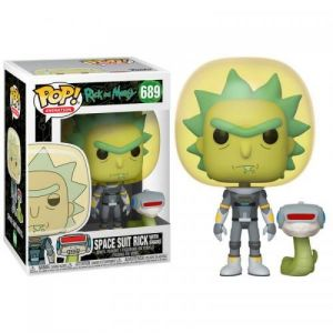 Rick et Morty Bobble ad Pop N° 689 - [ML] [Figurine]