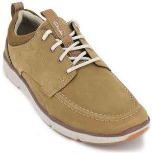 Clarks Orson Bay, Sneakers Basses Homme, Marron (Tan Nubuck), 41.5 EU