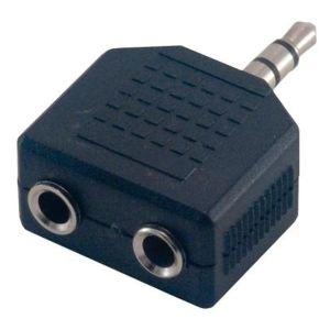 MCL Samar CG-701HQ - Répartiteur audio mini-phone Stéréo 3,5 mm (M) vers mini-phone Stéréo 3,5 mm (M)
