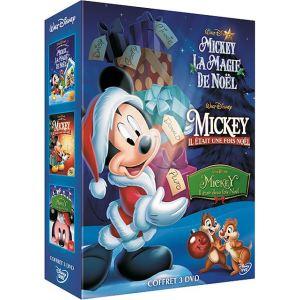 Coffret Mickey - Il était une fois noël + Il était deux fois noël + La magie de noël