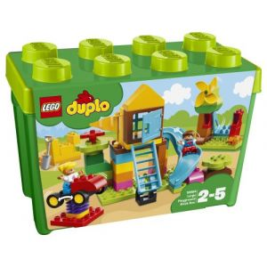 Lego 10864 - Duplo Mes 1ers Pas : La grande boîte de la cour de récréation