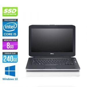 Dell Latitude E5430 - 14'' - Intel Core i5 3320M / 2.60 GHz - RAM 8 Go - SSD 240 Go - DVD - HDMI - Gigabit Ethernet - Wifi - Windows 10 Professionnel