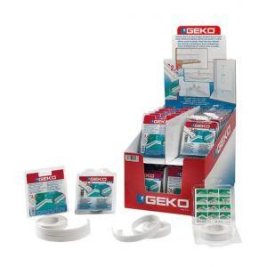 Geko Joint adhésif d'étanchéité pour salle de bain 22mm x 24m - Categorie fantome