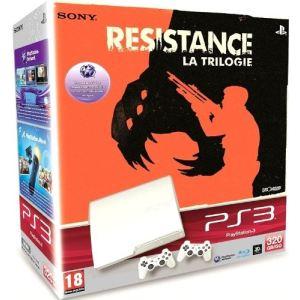 Sony PS3 Slim 320 Go + Resistance Trilogy
