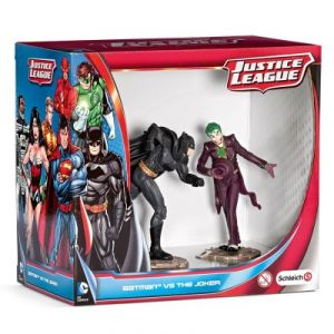 Schleich 22510 - Justice League Scenery Pack : Batman vs. The Joker