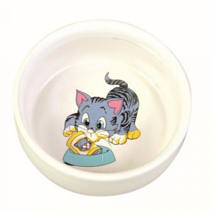 Image de Trixie Gamelle en céramique avec des motifs 0,3 L / ø 11 cm