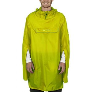 Vaude Valdipino Poncho Homme Lemon FR : XL (Taille Fabricant : XL)