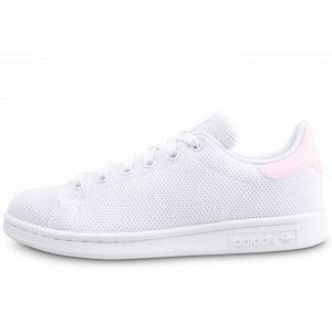 Adidas Stan Smith W, Chaussures de Fitness Femme, Blanc Ftwbla/Rosmar 000, 36 2/3 EU