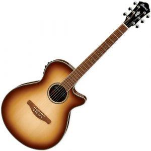 Ibanez AEG10II Natural Browned Burst guitare électro-acoustique