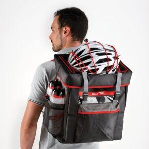 Elite Tasche Tri Box Schwarz/Rot, Fã¼r Triathlon/Duathlon