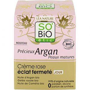 So'Bio Étic Précieux argan - Crème rose éclat ermété Jour