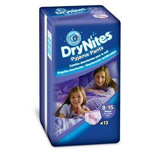 Huggies Dry Nites Pyjama Pants 8-15 ans - 13 couches