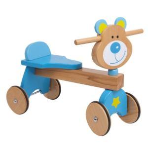 Trotteur ours en bois