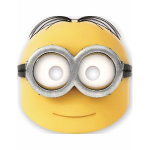 6 masques en carton Dave lovely Minions