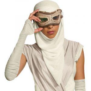 Masque adulte avec cagoule Rey - Star Wars VII