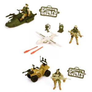 Chap Mei Coffret Soldier Forced VIII Véhicule, figurine et armes A l'assortiment