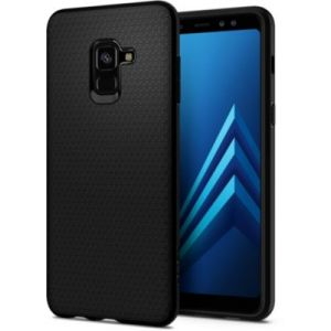 Spigen Coque Galaxy A8 Liquid Air Noir