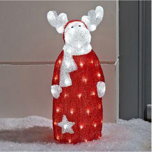 Renne debout Lumineux LED de Noël