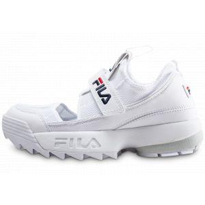 FILA Sandales Sandale Femme Disruptor Halfsandal blanc - Taille 36,37,38,39,40,41