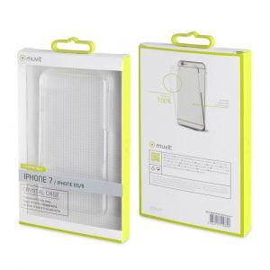 Muvit Housses et étuis Cristal Case Iphone 8/7/6s/6 One Size Clear - Clear - Taille One Size