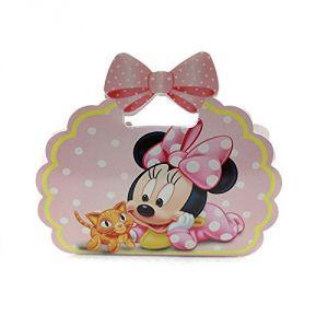 Boîte à dragées en carton Minnie