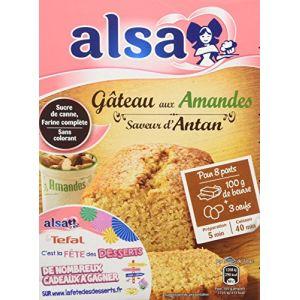 Alsa Gâteau aux amandes saveur d'antan - La boîte de 300g