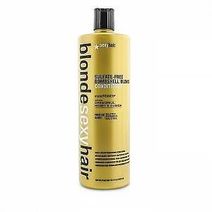 Sexy hair Blonde Bombshell Blonde Daily Color Preserving Conditioner 1000ml for Women, sulphate-free
