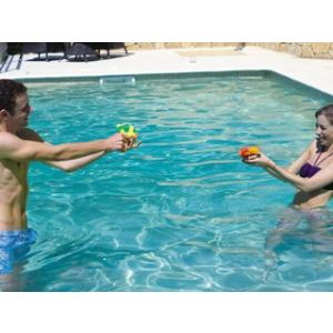 Set de 4 pistolets à eau Water Gun