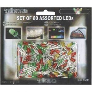 ASSORTIMENT DE 80 LEDS