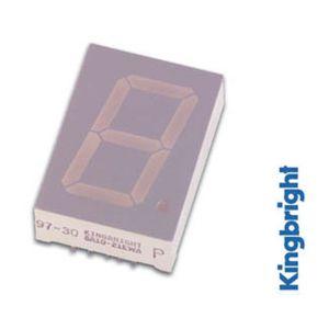 Afficheur 7 segments 25mm anode commune hyper rouge