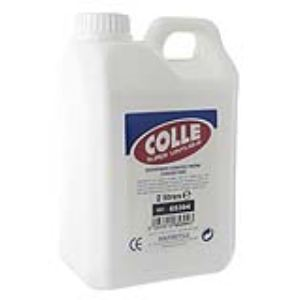 Majuscule Flacon colle super vinylique 2l