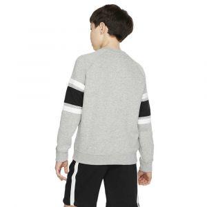 Nike Air Sweat-Shirt Crew - Gris/Noir/Blanc Enfant - Gris - Taille Boys M: 137-147 cm