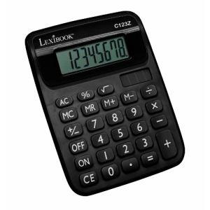 Lexibook C123Z - Calculatrice à 8 chiffres Semi Desktop