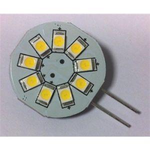 1 ampoule G4 9 Leds 130 Lumens sortie latérale BRILLE-LED
