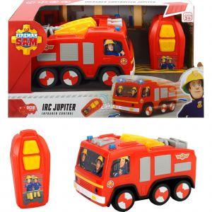 Dickie Toys Camion radiocommandé Jupiter de Sam le Pompier