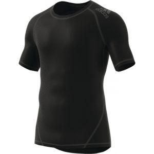 Adidas Alphaskin Sport Tee Short Sleeve T-Shirt Homme, Noir, FR : XL (Taille Fabricant : XL)