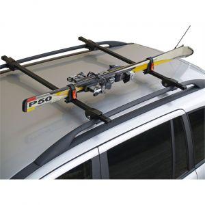 Menabo Porte-skis sur barres de toit Ski Rack 423618 pour 1 paire de skis de fond