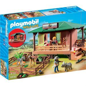 Playmobil 6936 Wild Life - Centre de soins pour animaux de la savane
