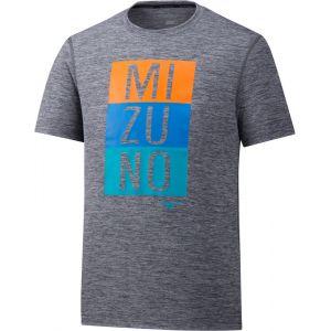 Mizuno Impulse Core - T-shirt course à pied Homme - gris L T-shirts course à pied