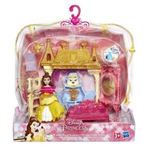 Hasbro Mini-poupée Disney Princess et décor pailleté