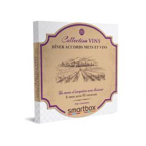 Smartbox Coffret cadeau Dîner accords mets et vins