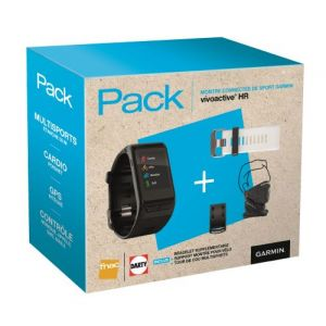 Garmin Pack FNAC Montre connectée Multisports Vivoactive HR