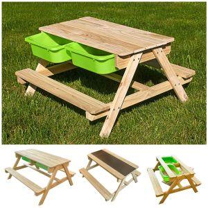 Pragma LDD Sunny Table sable & eau - double top