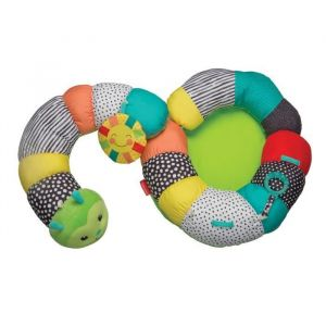 Infantino Coussin d'activités 2 en 1 - Multicolore