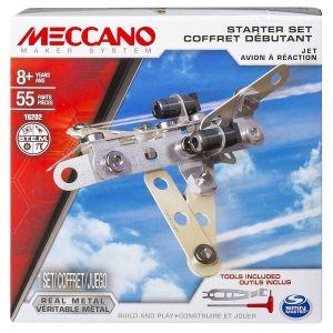 Meccano Coffret débutant Avion à réaction