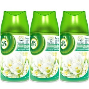 Air Wick Freshlmatic Max, recharge spray automatique. Fleurs blanches - Le vaporisateur de 250ml
